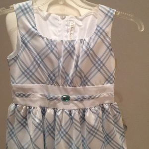 💥3 for $20💥 NWT girls Sz 12 blue and white part…